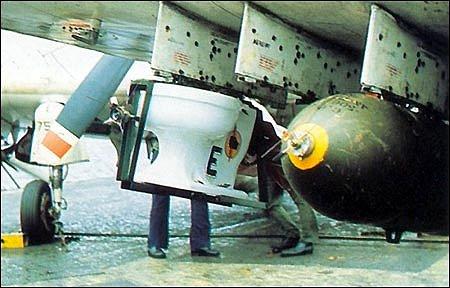 USS Midway VA-25's Toilet Bomb