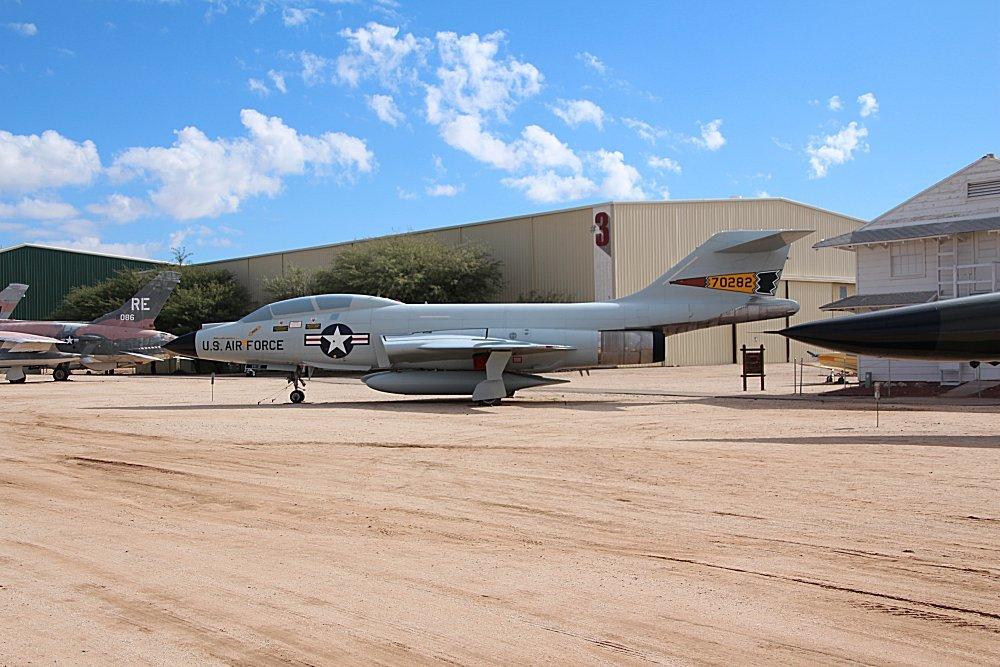 Pima Air Space Museum Tucson Arizona Mcdonnell F  Voodoo