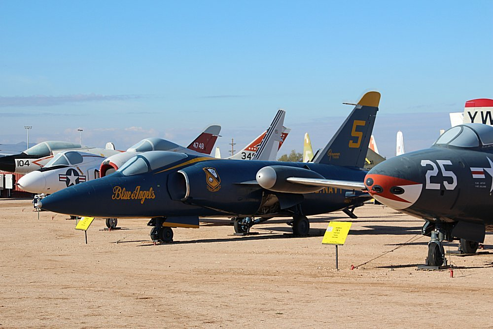 Pima Air & Space Museum, Tucson, Arizona, Grumman F11F/F ...