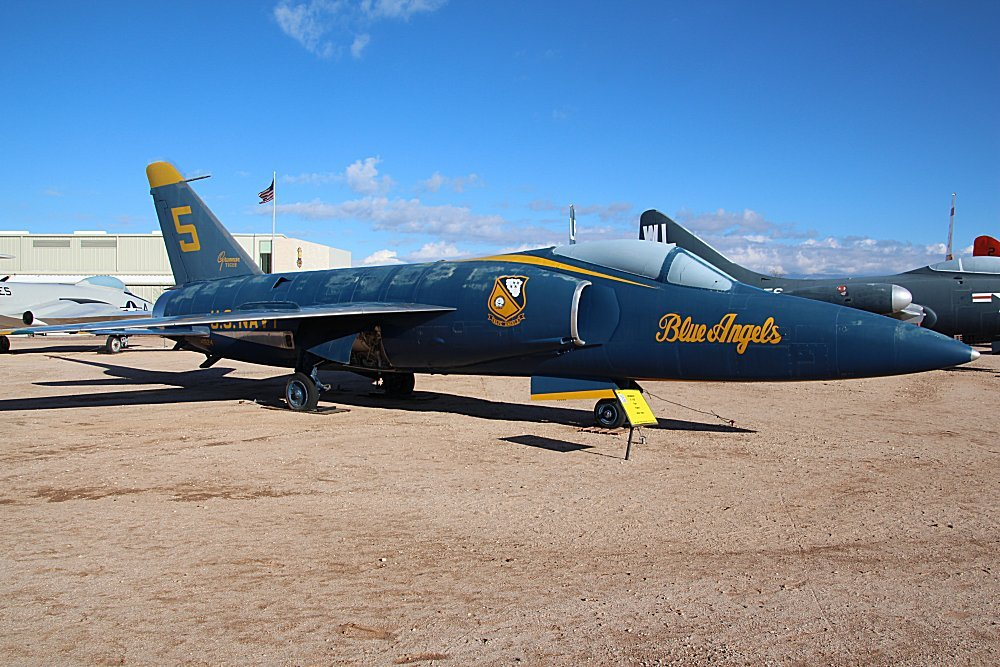 Pima Air & Space Museum, Tucson, Arizona, Grumman F11F/F ...