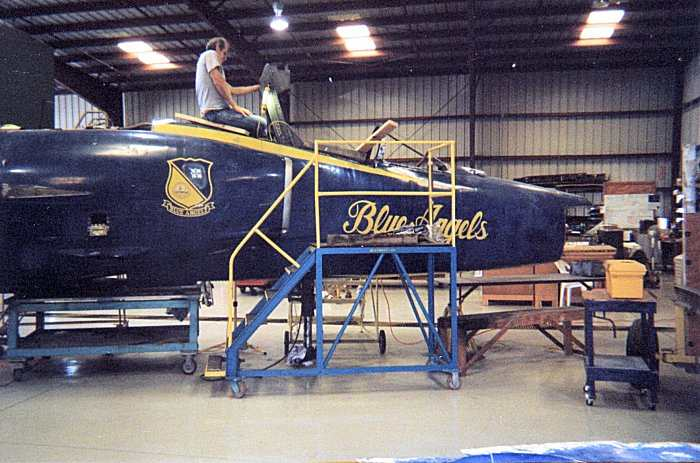 Warbird Air Museum Titusville, FL  F-11A BuNo  141882